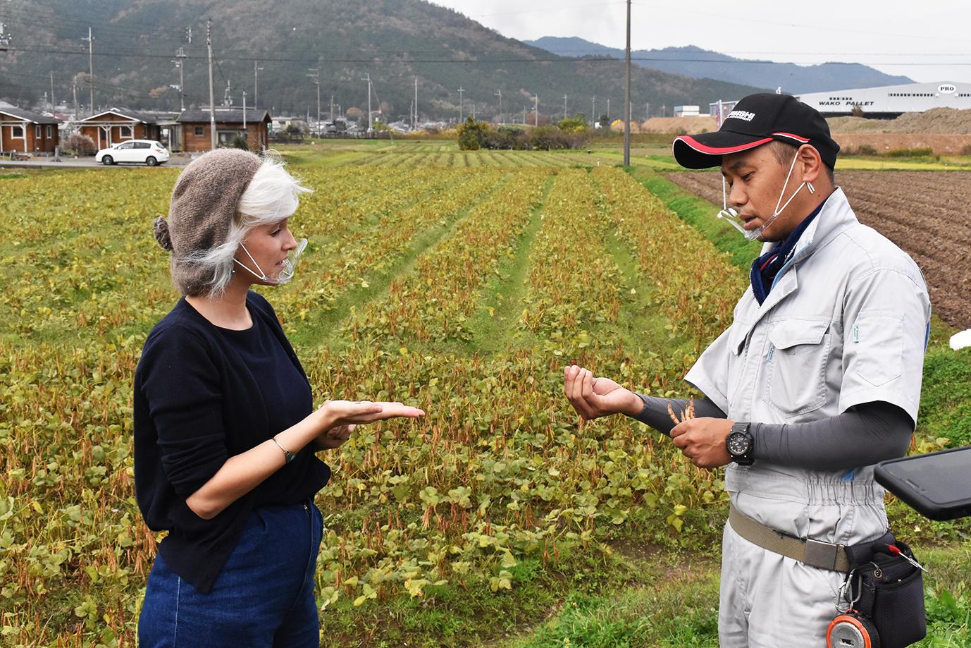 NHKで丹波大納言小豆を紹介 丹波大納言小豆を世界へPR