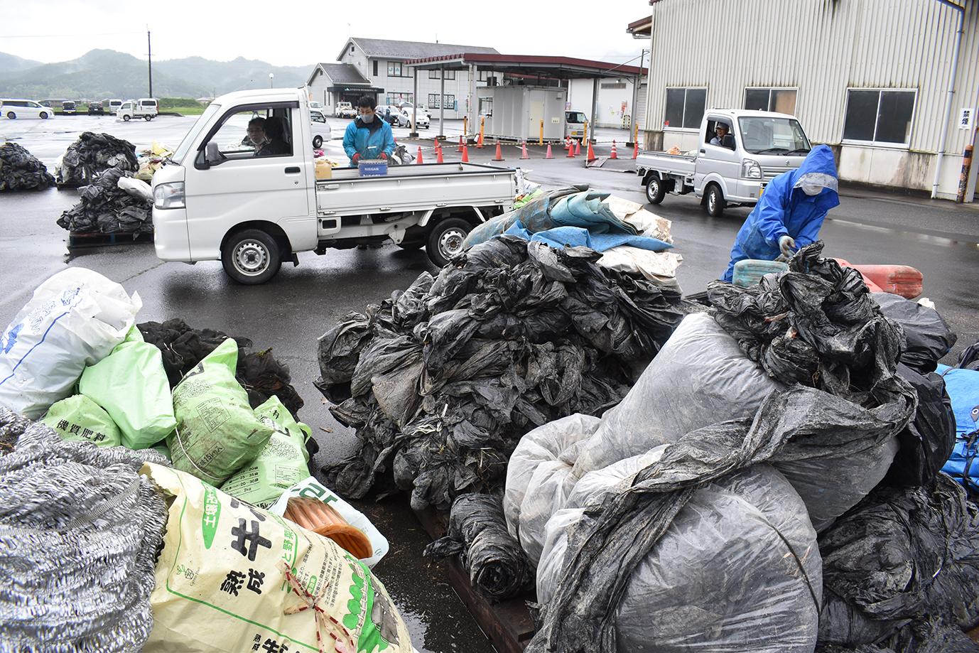 農業用廃プラスチック及び不要農薬回収